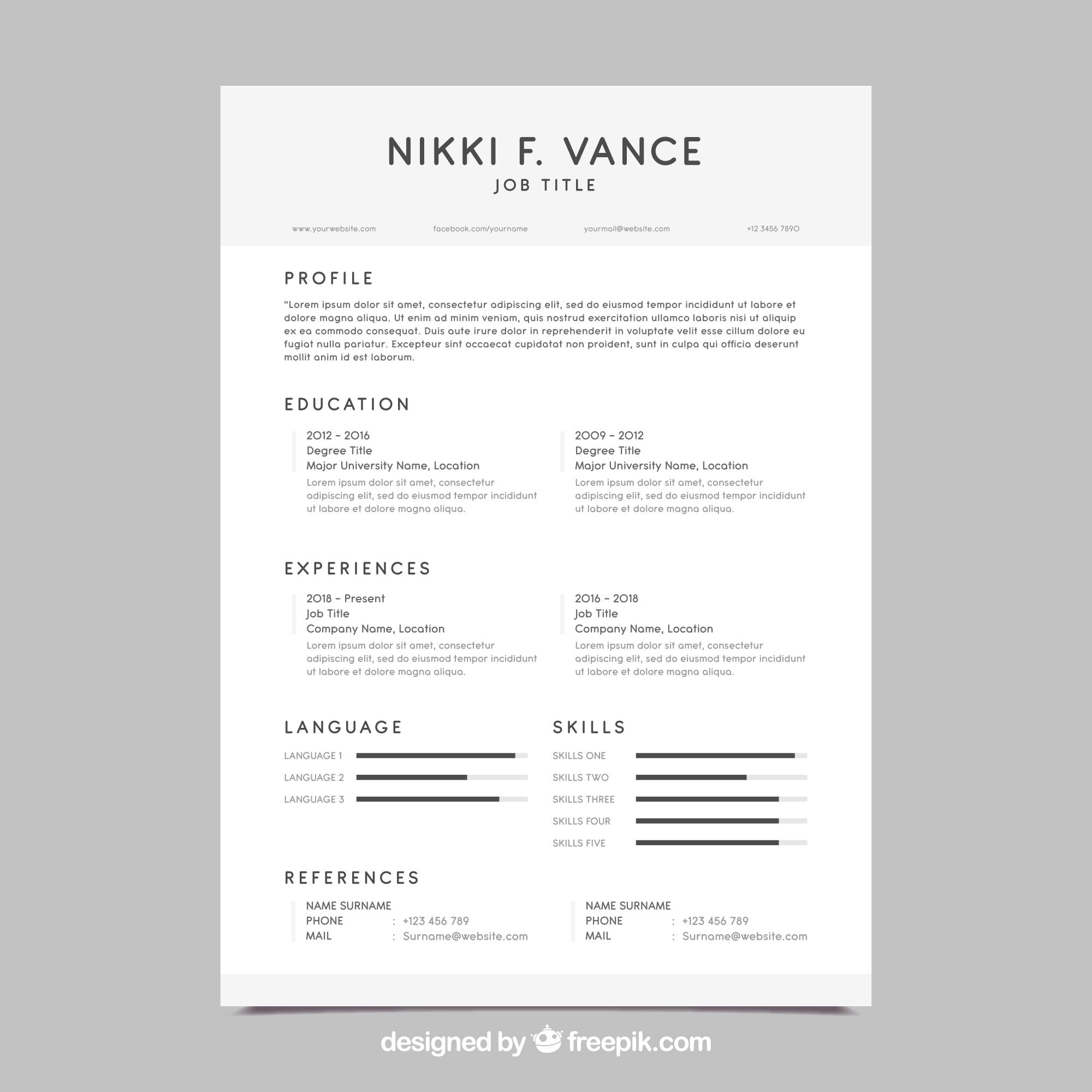 What Resume Format is Best & How to Choose a Good Resume Template?
