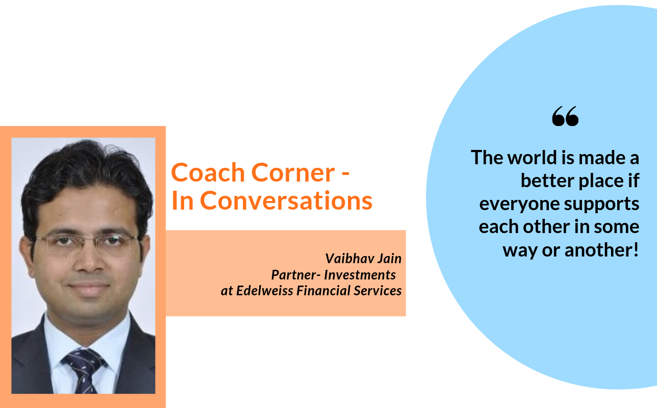 #Septemberspotlight In Conversation with Coach Vaibhav Jain