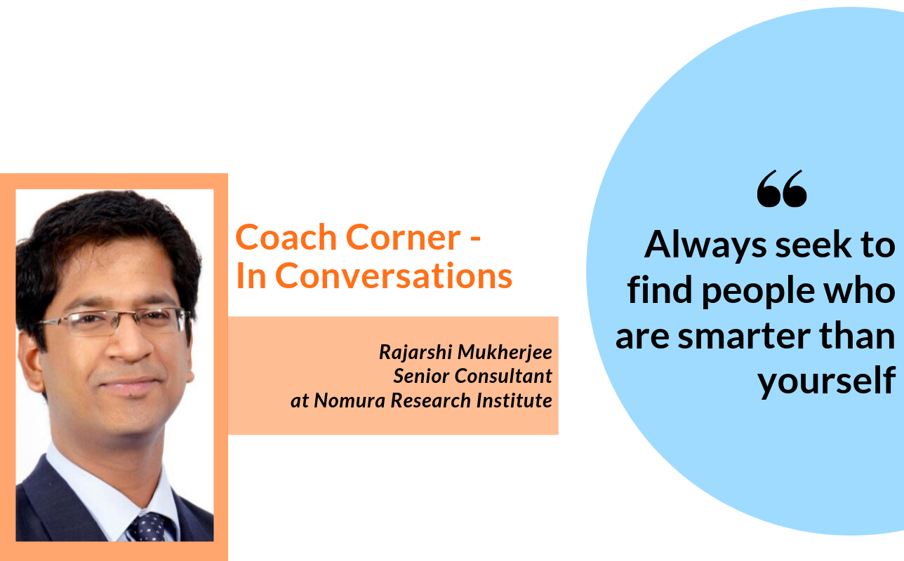 #Septemberspotlight In conversation with coach Rajarshi Mukherjee