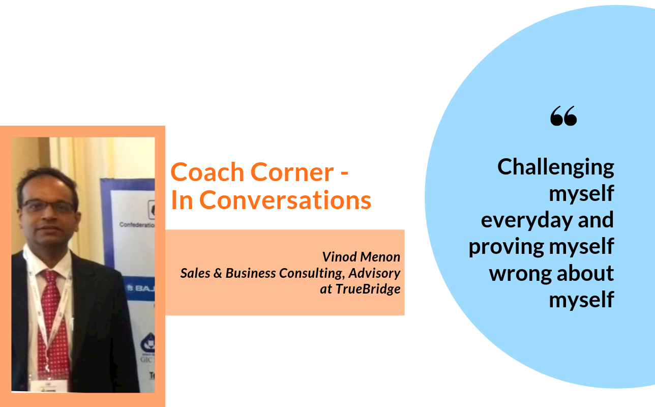 #SeptemberSpotlight: In conversation with coach Vinod Menon