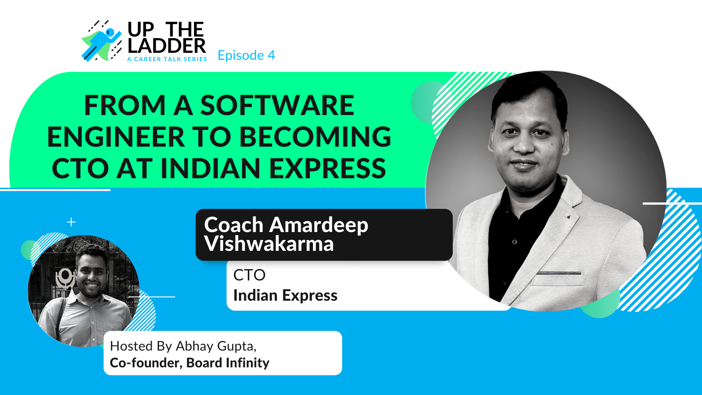 Career Advice for Freshers from Indian Express's CTO (w/ Amardeep Vishwakarma)