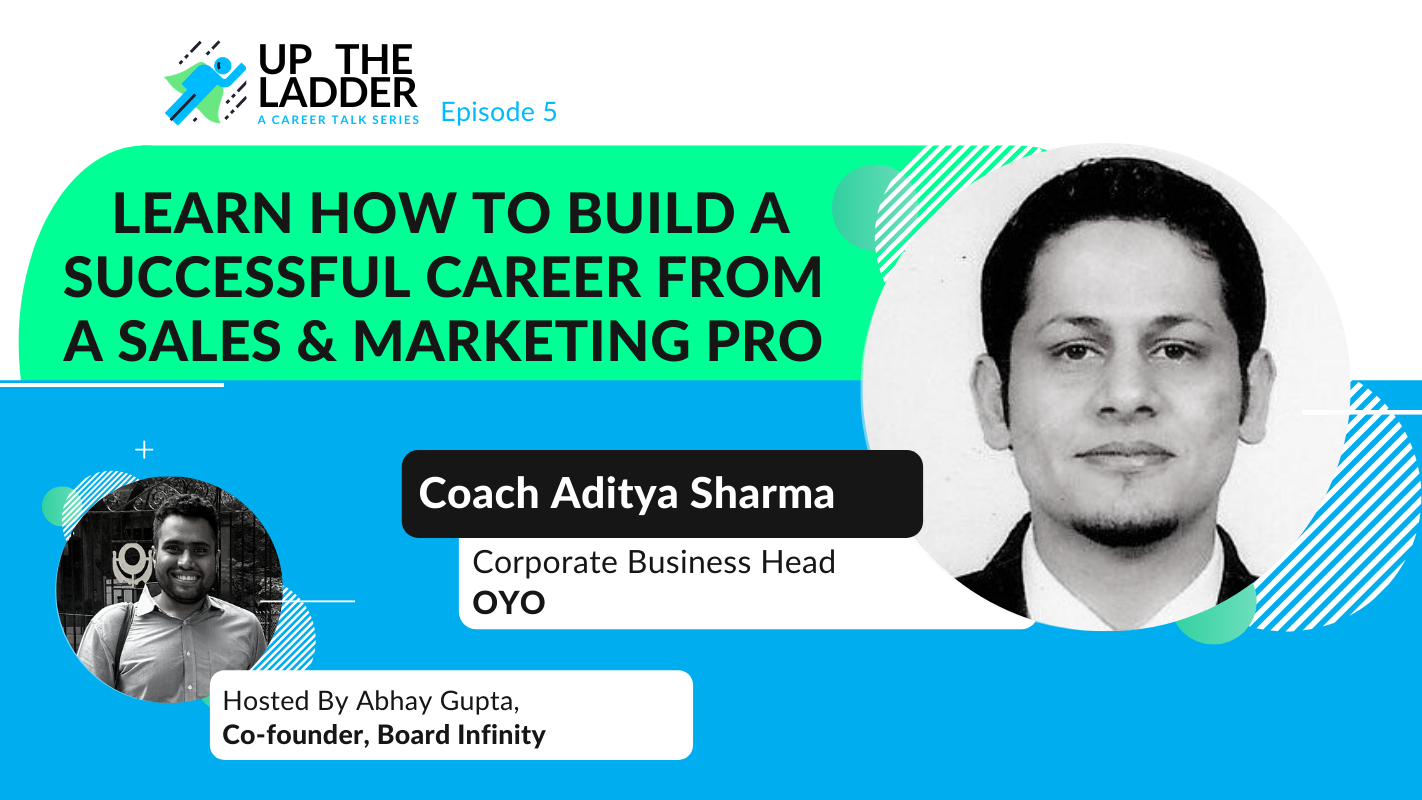 Sales & Marketing Lessons from OYO's Corporate Business Head (w/ Aditya Sharma)