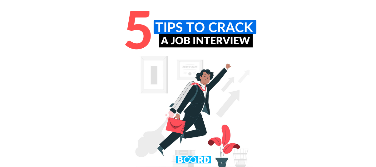 5 Tips to Crack a Job Interview