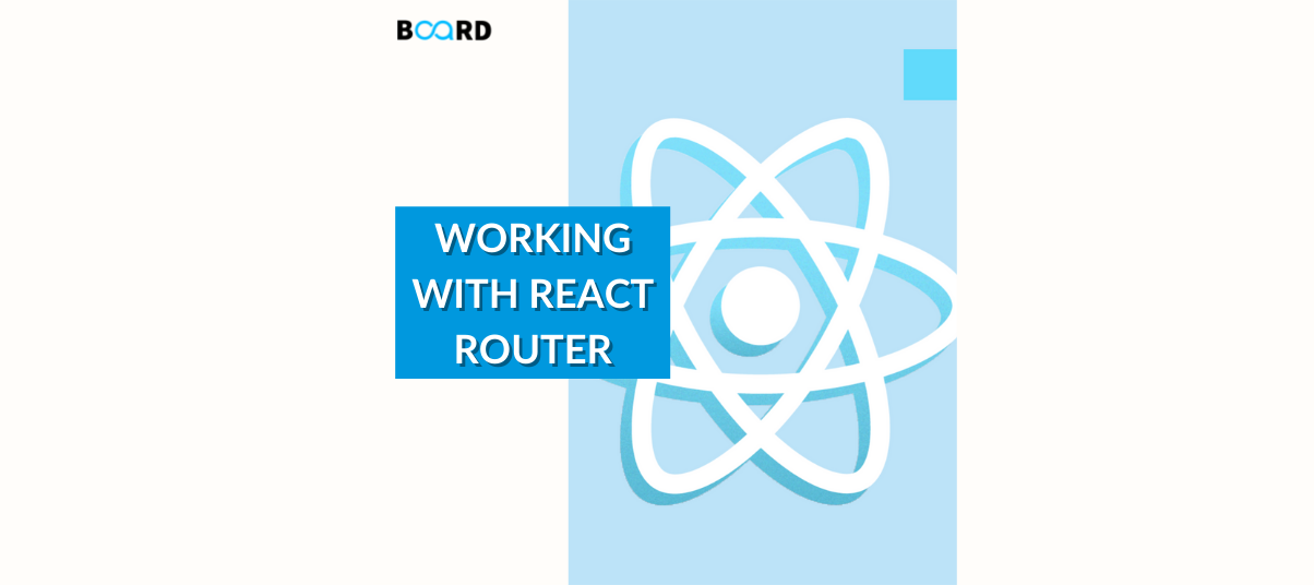 Working with React Router