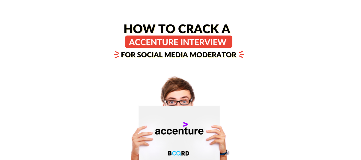 How to Crack an Accenture Interview for a Social Media Moderator?