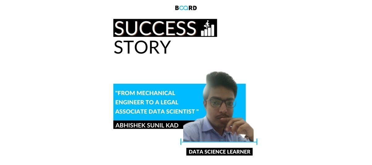 From a Mechanical Engineer to a Legal Associate and Now an Aspiring Data Scientist: My Career Journey