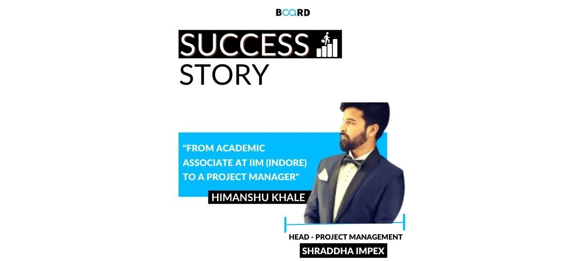 From Academic Associate at IIM (Indore) to a Project Manager: My Journey with Data Science