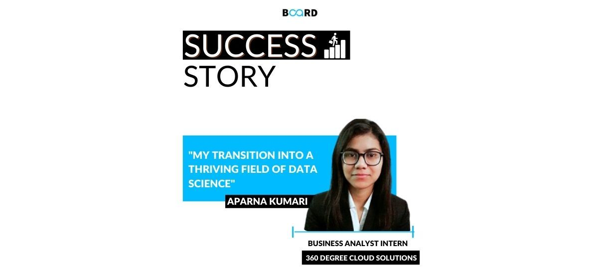 My Journey in the Field of Data Science