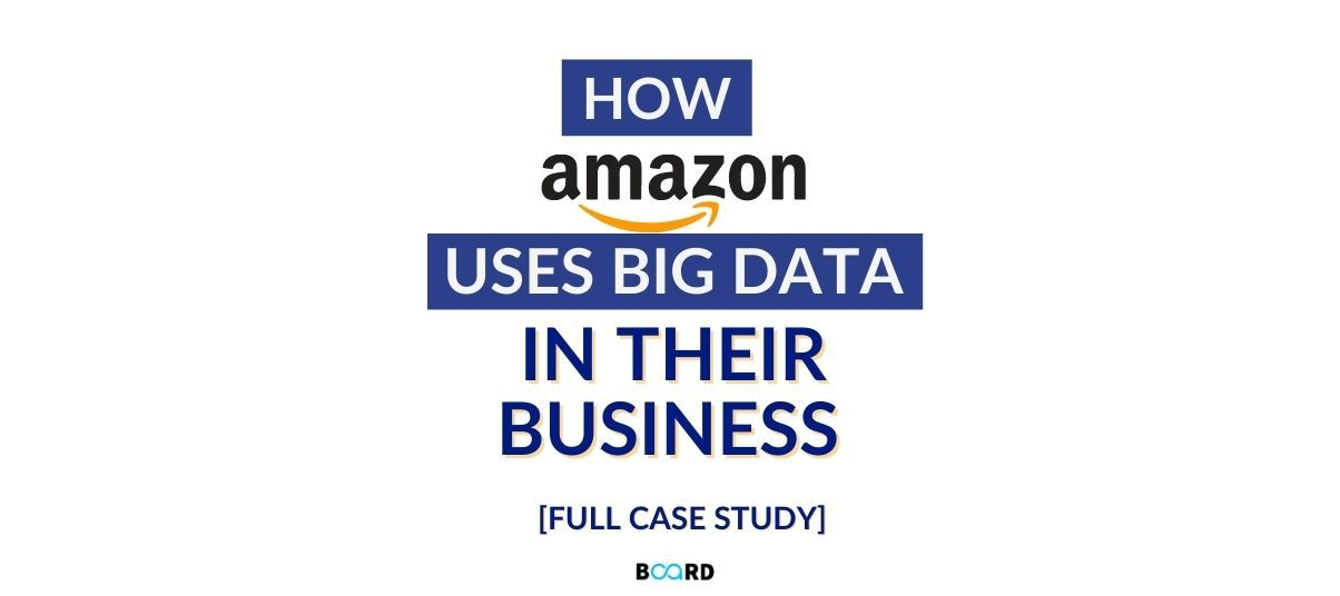[Case Study] How Amazon Uses Big Data In Their Business