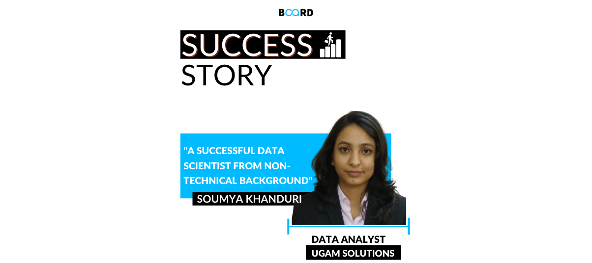 A Successful Data Scientist From Non-Technical Background