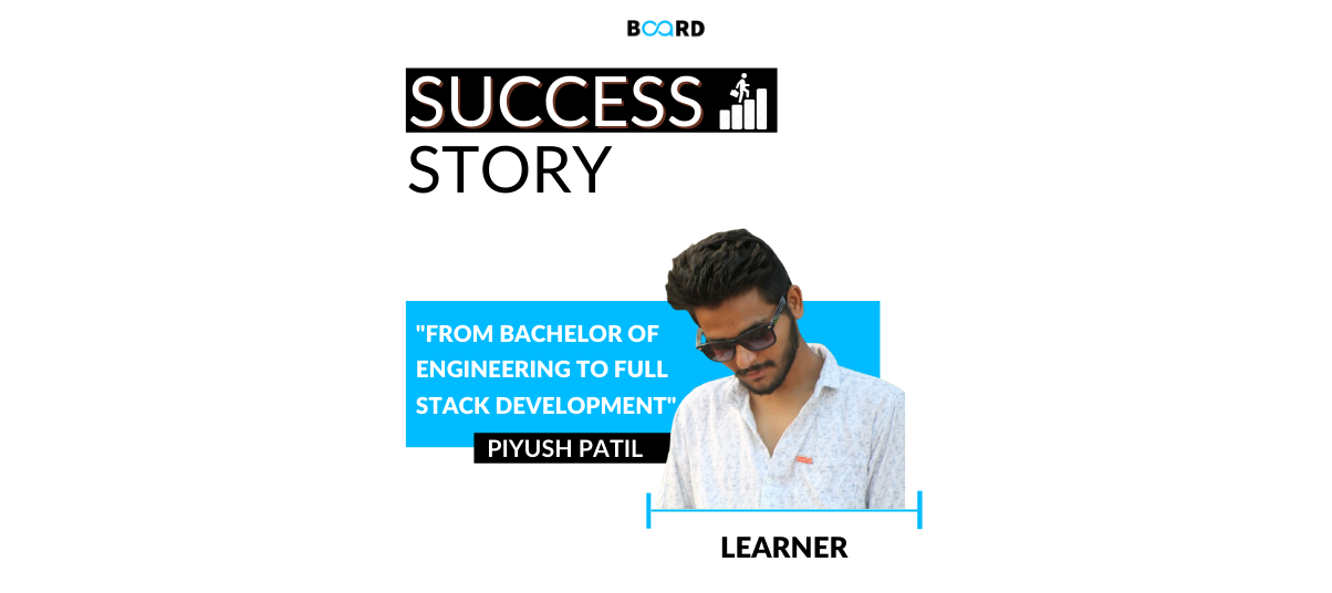 From Bachelor of Engineering to Full Stack Development