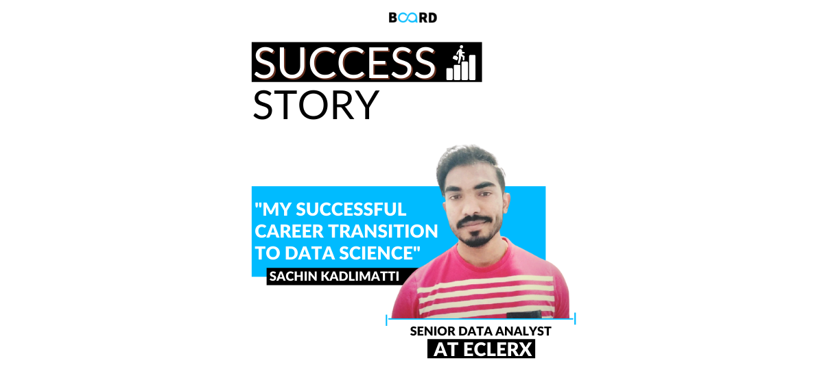 Say YES to challenges: My successful career transition to Data Science!