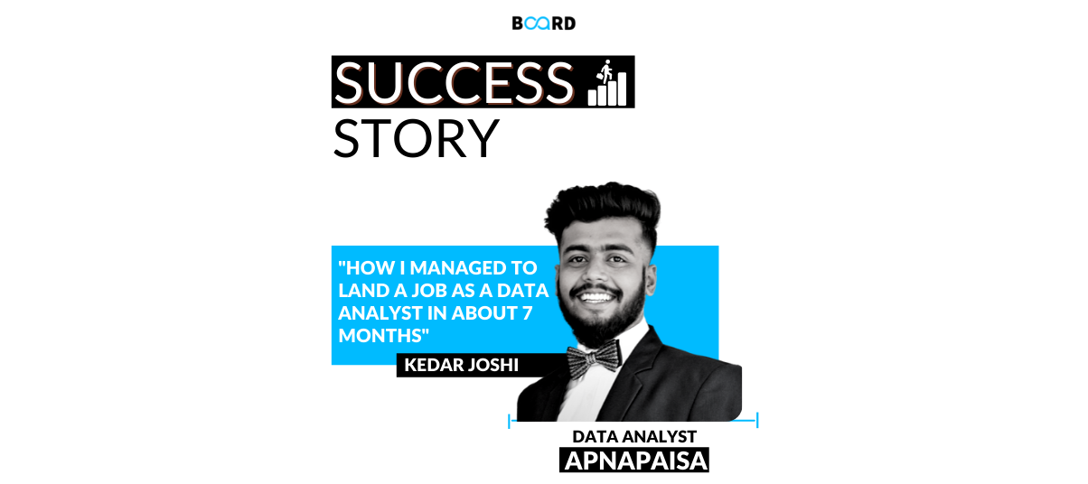 How I managed to land a job as a Data Analyst in about 7 months
