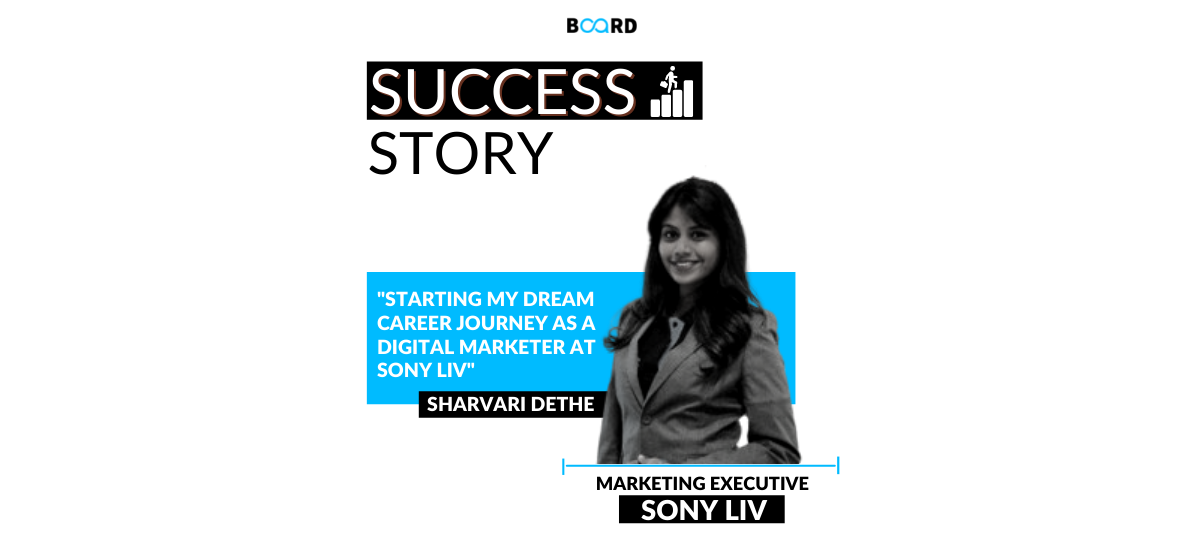 Starting My Dream Career Journey as a Digital Marketer at Sony LIV