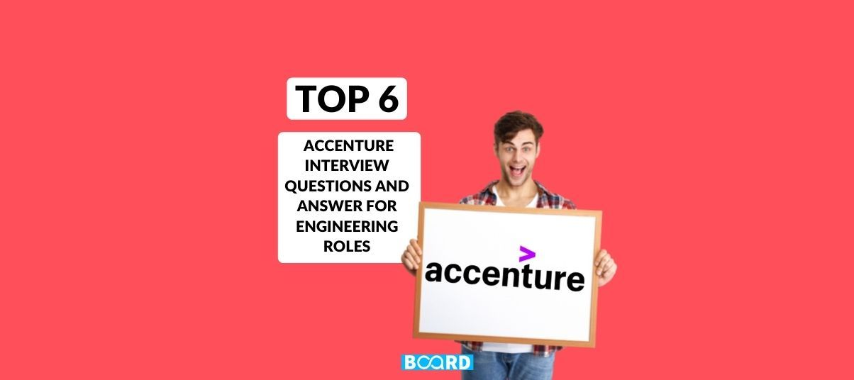 Top 6 Accenture interview questions and answer for engineering roles