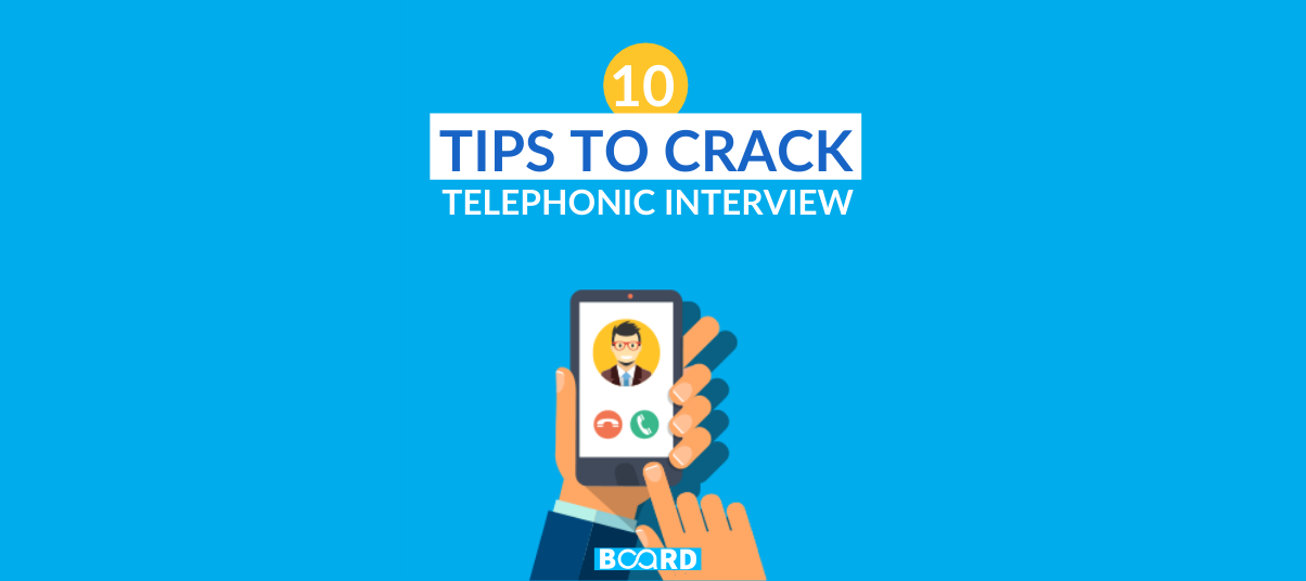 Phone Interview Tips: 10 Keys to crack a Telephonic Interview