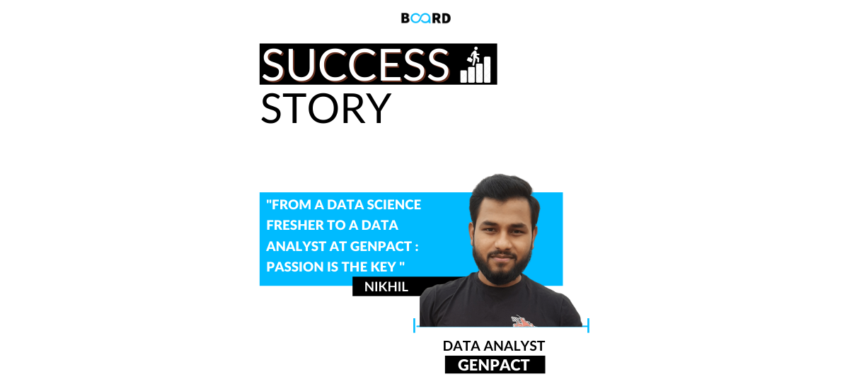 From a Data Science Fresher To A Data Analyst At Genpact: Passion Is The Key
