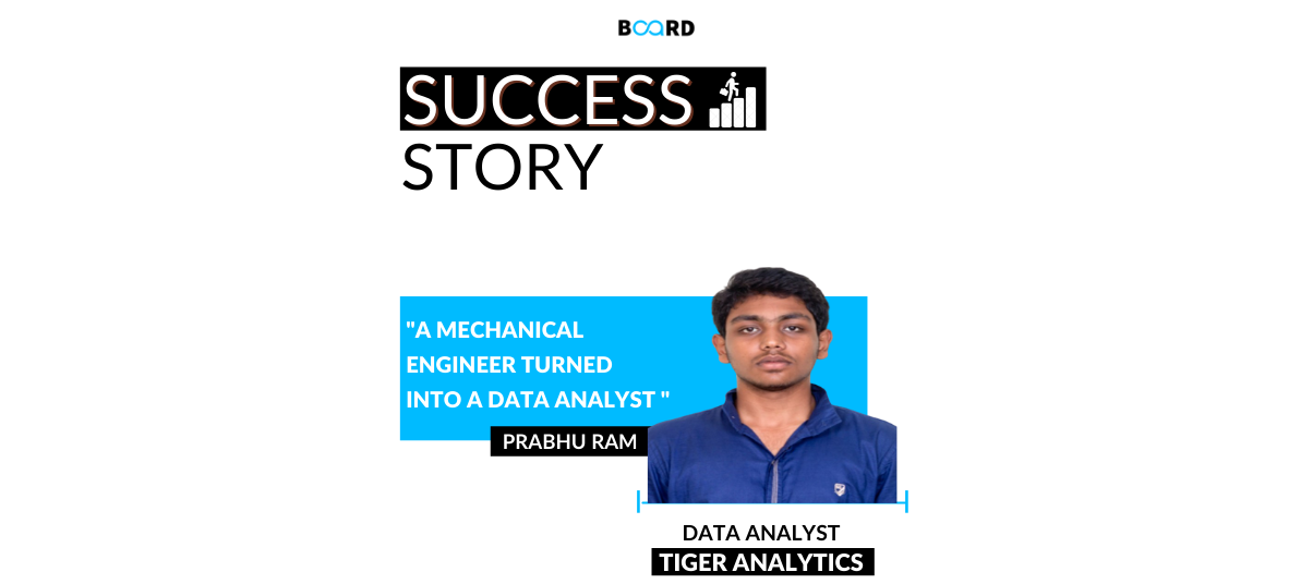 A Mechanical Engineer Turned into a Data Analyst: My career Journey