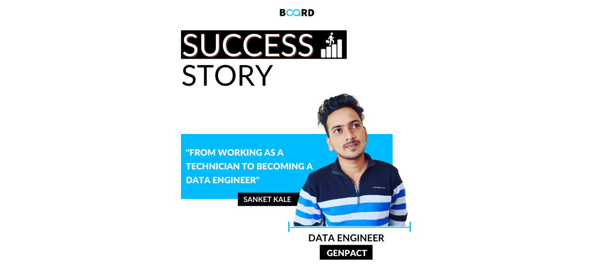 From Working as a Technician To Being Offered the Role of Data Engineer at Genpact