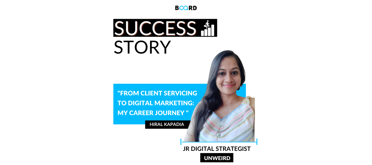 From Client Servicing to Digital Marketing: My career journey