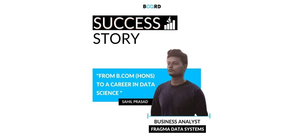 From B.Com (Hons)to a Career in Data Science