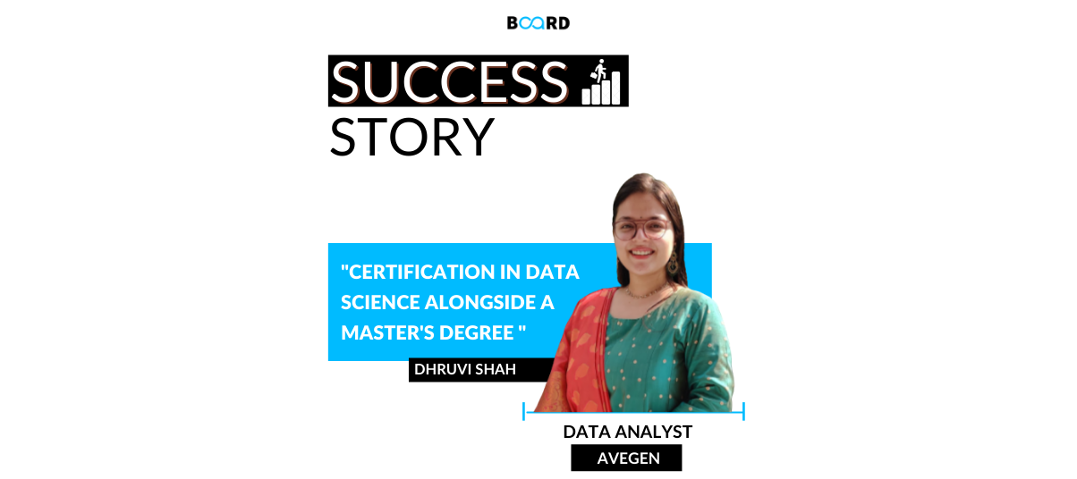 Certification in Data Science alongside a master's degree: My Important Career Decision
