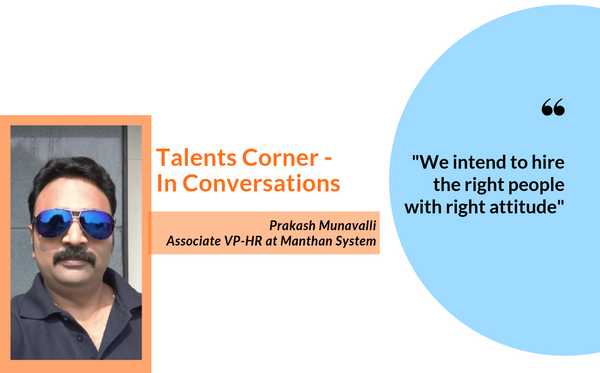 AVP- HR of Manthan Systems enlightens about the field of Analytics