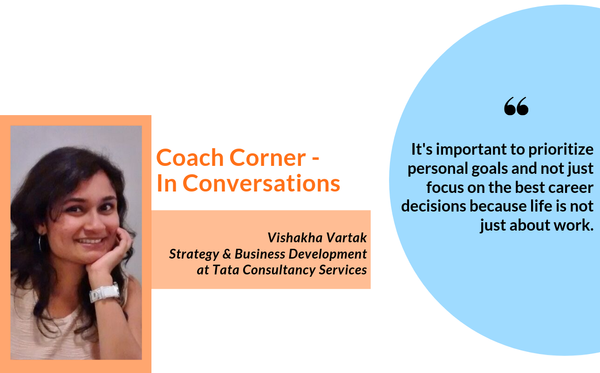 #Septemberspotlight: In Conversation with Coach Vishakha Vartak