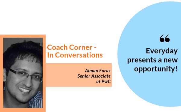 #Septemberspotlight In conversation with coach Aiman Faraz
